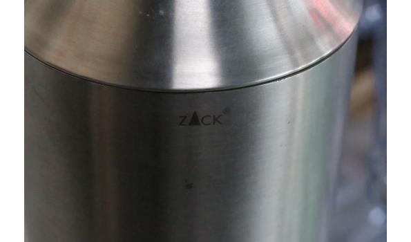 lot divers wo pvc drinkglazen KOZIOL, shaker ZACK, enz