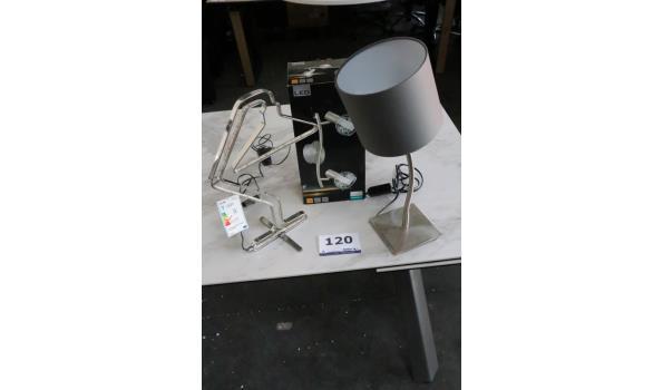 3 div design lampen wo LED