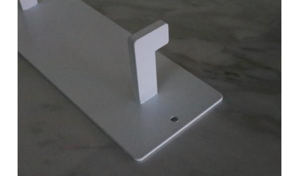 wandkapstok, wit, afm plm 70x10cm
