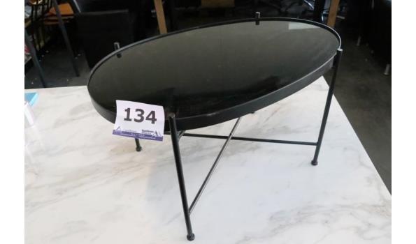 ovalen salontafel, licht beschadigd