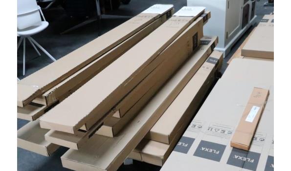 houten hoogslaper, afm plm 140x190cm