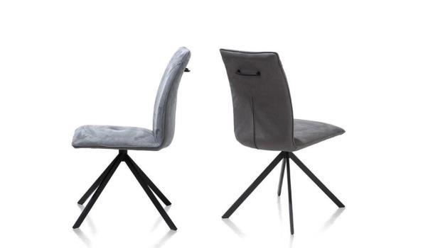design stoel, stof bekleed
