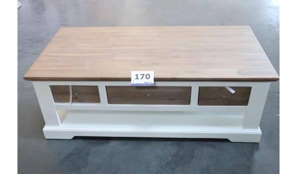houten tv-meubel afm plm 120x60x43cm