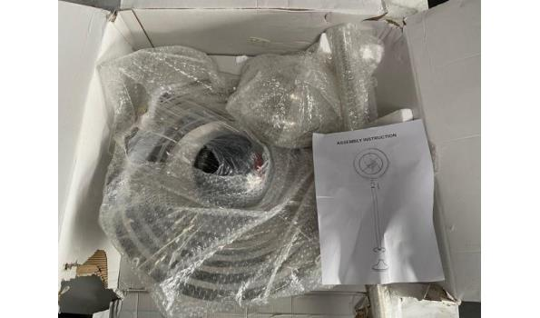 decoratieve staande voorwerp, Armillary object, h plm 130cm