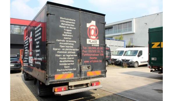 lichte vrachtwagen NISSAN CABSTAR TL3513, diesel, 2488cm³, 96kW, 1e inschr 21/8/09, chassisnr VWASHFF2471030523, 198557km, CO²-uitstoot 266g/km, EURO4, compl met kentekenbewijs, gelijkvormigeheidsattest, 2sleutels, keuring tot 24/8/21