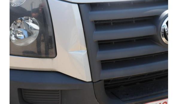 lichte vrachtwagen VW CRAFTER, diesel, 2461cm³, 80kW, 1e inschr 18/01/2008, chassisnr WV1ZZZ2E86027025, 299167km, CO²-uitstoot ng, EURO4, compl met: 1sleutel, kenteken DEEL I+II, gelijkvormigheidsattest, keuring tot 11/12/19