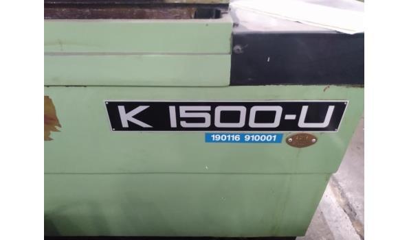 krukas slijpmachine AMC, K I500-U