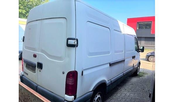 lichte vrachtwagen RENAULT 2.2dci, diesel, cm³ ng, kW ng, 1e inschr 18/05/01, chassisnr VF1FDCGL5248486944, 263591km, met kenteken DEEL I+II,gelijkvormigheidsattest, 1sleutel, keuring tot 26/08/20,  CO²-uitstoot ng, EURO2,