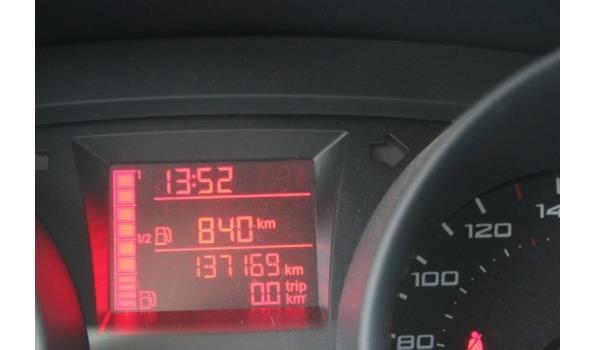 voertuig meerdere doeleinden SEAT IBIZA,diesel,1422cm³,59kW,1e inschr 08/06/10,chassisnr VSSZZZ6JZAR123648,137169km, met kenteken DEEL I(DEELII n.a), gelijkvormigheidsattest, keuring tot 18/2/21, 1sleutel,