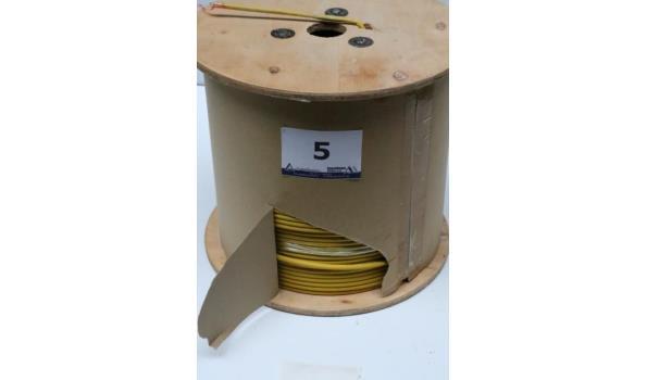 aangebroken haspel IT-kabel