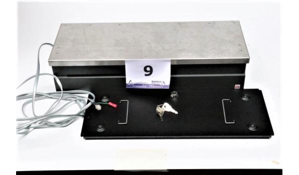 elektr geldlade vv sleutel