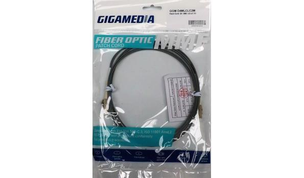 plm 18 div patch cord fiber kabels GIGAMEDIA