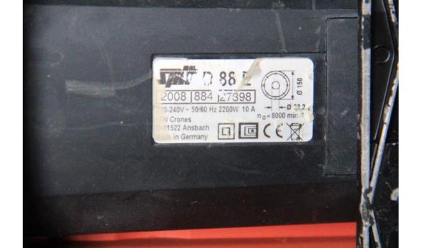 sleuvenzaagmachine SPITT D88E