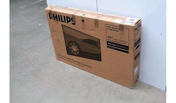 48inch monitor PHILIPS Q-Line BDL4835QL