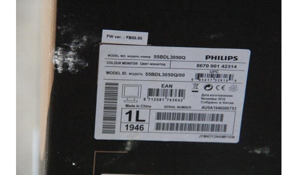 55inch 4K monitor PHILIPS, 55BDL3050Q