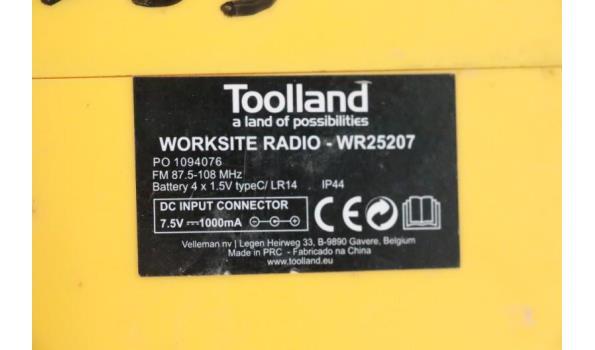 werfradio TOOLLAND WR25207