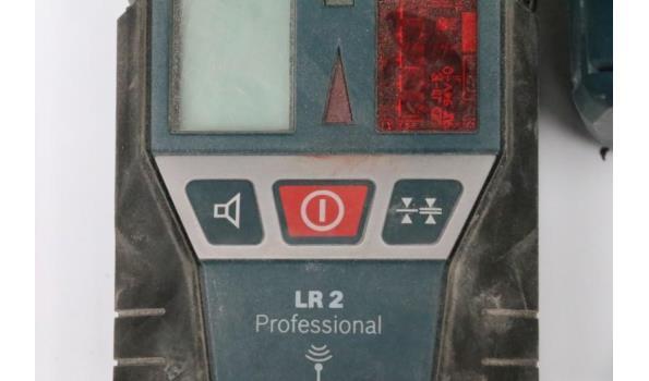 lijnlaser BOSCH GLL 3-50, bj 2018 met toebehoren in koffer
