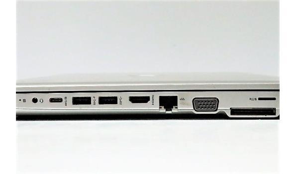 laptop HP Probook 650 G4, met lader, paswoord niet gekend, beschadigd