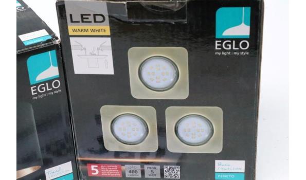 2 diverse led verlichting EGLO