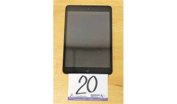 tablet pc APPLE, Ipad A1432, zonder kabels, werking niet gekend, paswoord niet gekend, mogelijks Icloud beveiligd