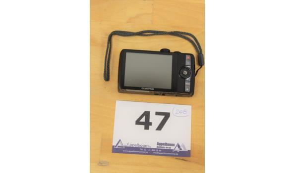 digitale fotocamera OLYMPUS, SH-16, zonder lader en kabels, werking niet gekend
