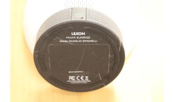 wake up light alarmklok LEXON, Miami Sunrise, werking niet gekend, zonder kabels
