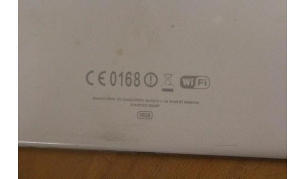 Tablet PC SAMSUNG, Galaxy Tab 3, 16Gb, zonder kabels, werking niet gekend