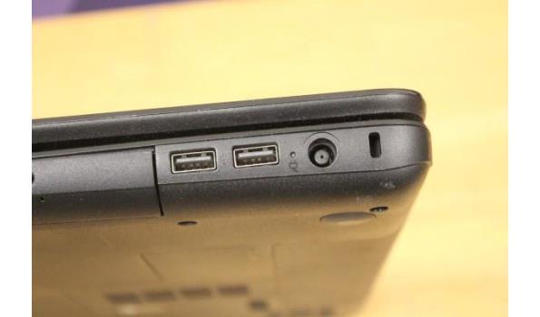 laptop COMPAQ, CQ58, zonder lader, paswoord niet gekend, werking niet gekend