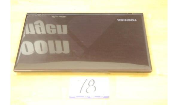 laptop TOSHIBA, Satellite L50, zonder lader, paswoord niet gekend, werking niet gekend