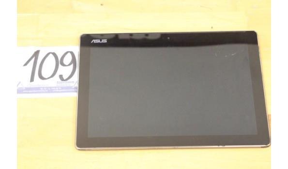 tablet pc ASUS ZenPad, zonder lader, paswoord niet gekend, werking niet gekend