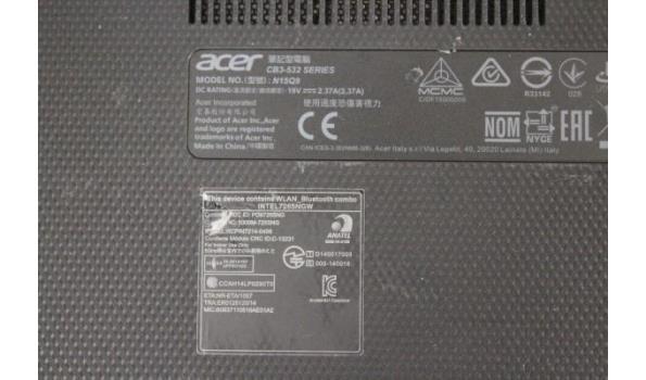 laptop ACER Chromebook 15, zonder lader, paswoord niet gekend, werking niet gekend