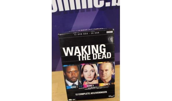 4-delige dvd box serie Walking The Dead