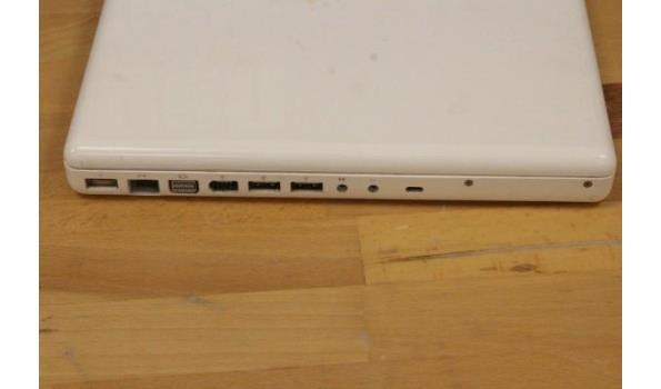 laptop APPLE, MacBook A1181, zonder lader, paswoord niet gekend, werking niet gekend