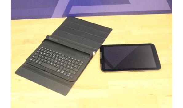 tablet pc TREKSTOR VT10418-2, met cover/toetsenbord, zonder lader, paswoord niet gekend, werking niet gekend