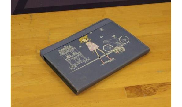 tablet pc LENOVO, met cover, zonder lader, paswoord niet gekend, werking niet gekend