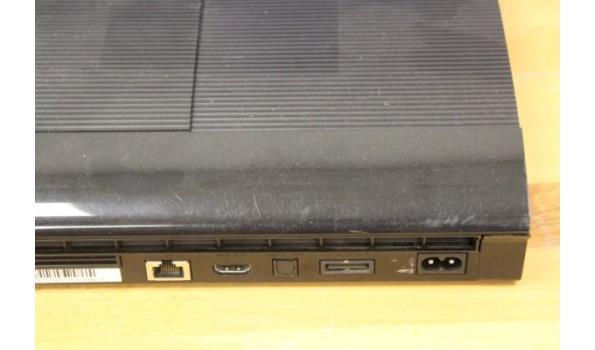 spelconsole SONY PS3, zonder kabels, werking niet gekend