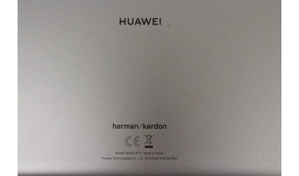 tablet pc HUAWEI BAH2-W19, zonder kabels, werking niet gekend, paswoord niet gekend