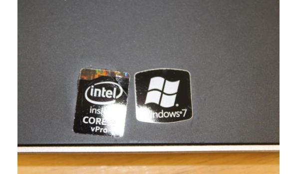 laptop DELL Latitude E7440, Intel Core i5 vPro, 250 Gb HD, zonder lader, paswoord niet gekend, werking niet gekend, beschadigd