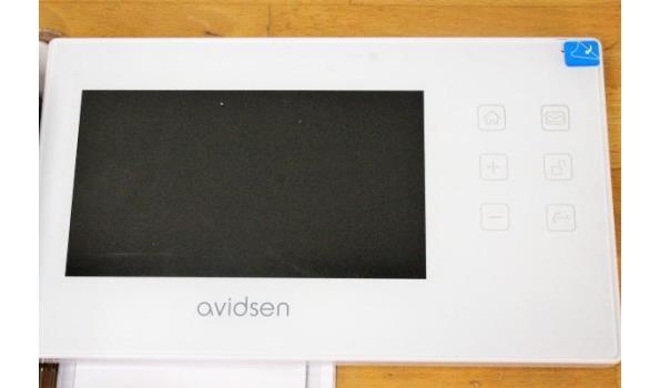 deurbel vv camera AVIDSEN plus monitor touch ldc 7