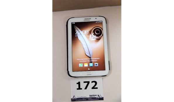 tablet pc SAMSUNG, GT-N5100, 16Gb, zonder lader, met gebruikssporen, werking niet gekend, paswoord niet gekend