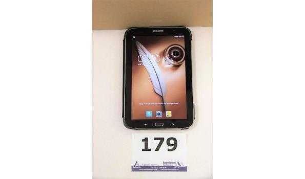 tablet pc SAMSUNG, GT-N5110, cap 16Gb, met gebruikssporen wo krassen, zonder lader, paswoord niet gekend, werking niet gekend