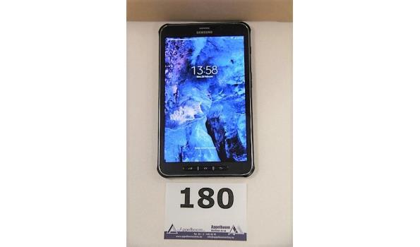 tablet pc SAMSUNG SM-T365, cap 16Gb, met gebruikssporen wo krassen, zonder lader, paswoord niet gekend, werking niet gekend