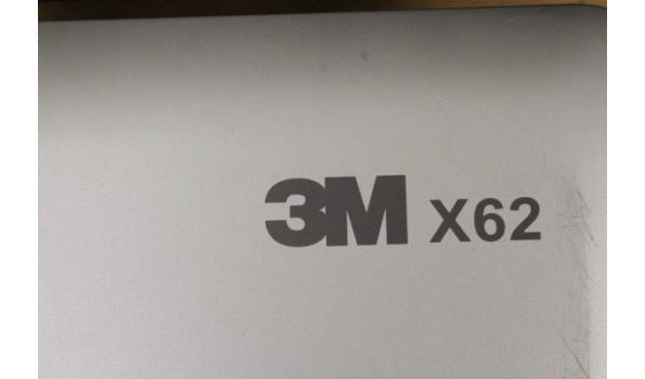 beamer 3M, X62, zonder kabels, werking niet gekend