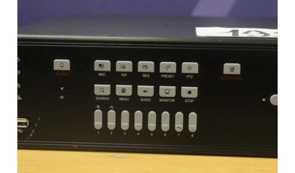 dvr beveiligingsvideorecorder VISTA, zonder kabels, werking niet gekend