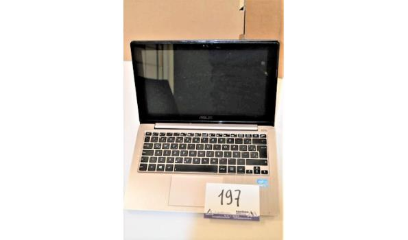 laptop ASUS,Intel Core i3, 500Gb, zonder lader, met gebruikssporen, paswoord niet gekend, werking niet gekend