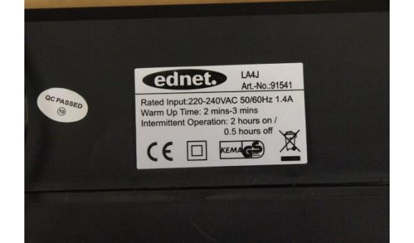 laminator EDNET LA4J A4 Laminator Photo, werking niet gekend