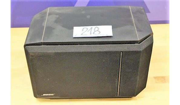 prof geluidsbox BOSE, zonder kabels, werking niet gekend