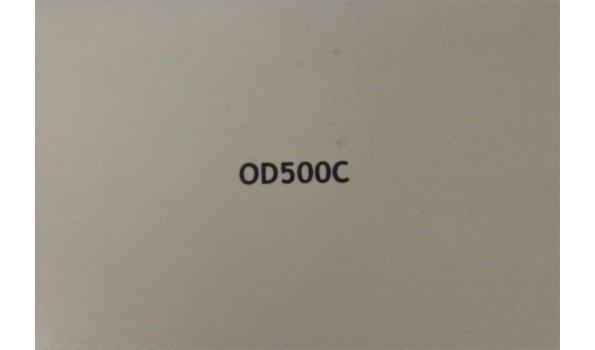 papierversnipperaar FELLOWES OD500C, werking niet gekend, zonder kabels