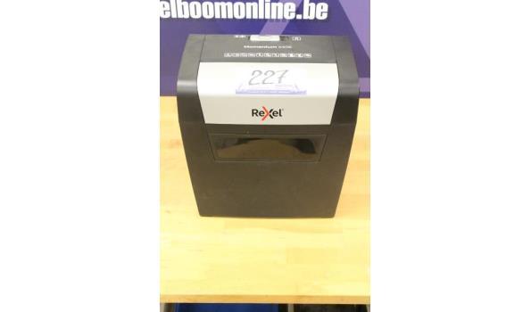 papierversnipperaar REXEL Momentum X406, zonder kabels, werking niet gekend