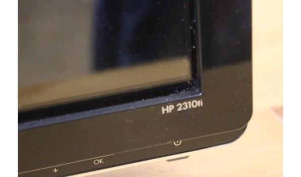 tft-scherm HP 2310ti, zonder kabels, werking niet gekend